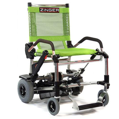 Zinger Classic La Silla De Ruedas Electrica Mas Ligera Y Plegable