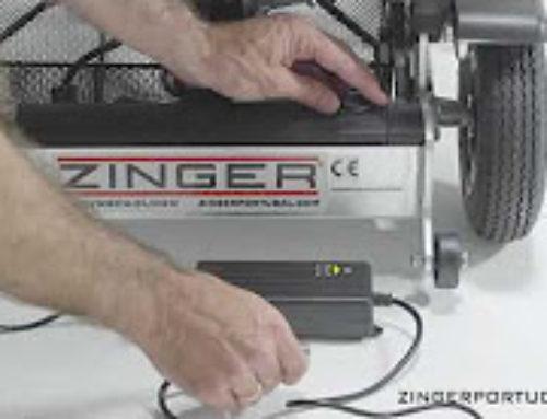 Cómo colocar la batería y cargar la silla eléctrica Zinger