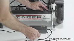 cómo cargar la batería de la silla Zinger