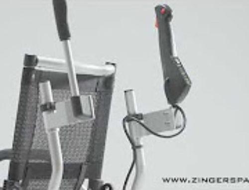 Kit andador trasero para las sillas de ruedas eléctricas Zinger