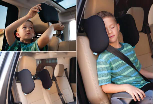 smartheadrest, el reposacabezas para que los niños viajen seguros