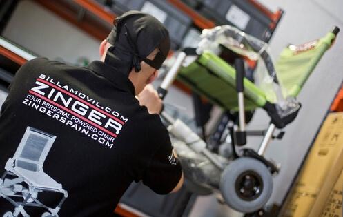 Tecmoving, el mejor mantenimiento para la silla eléctrica Zinger