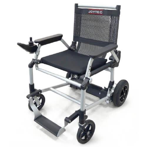 Joytec, la silla de ruedas eléctrica con joystick más ligera y plegable