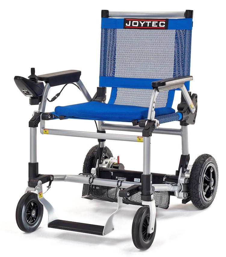 Silla de ruedas eléctrica Joytec azul