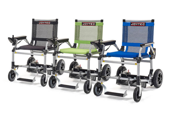 Colores silla de ruedas eléctrica Joytec