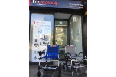 Sillas de ruedas eléctricas en Madrid, Tecmoving