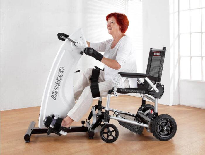 Equipo de rehabilitación Aimgood movement trainer de Tecmoving