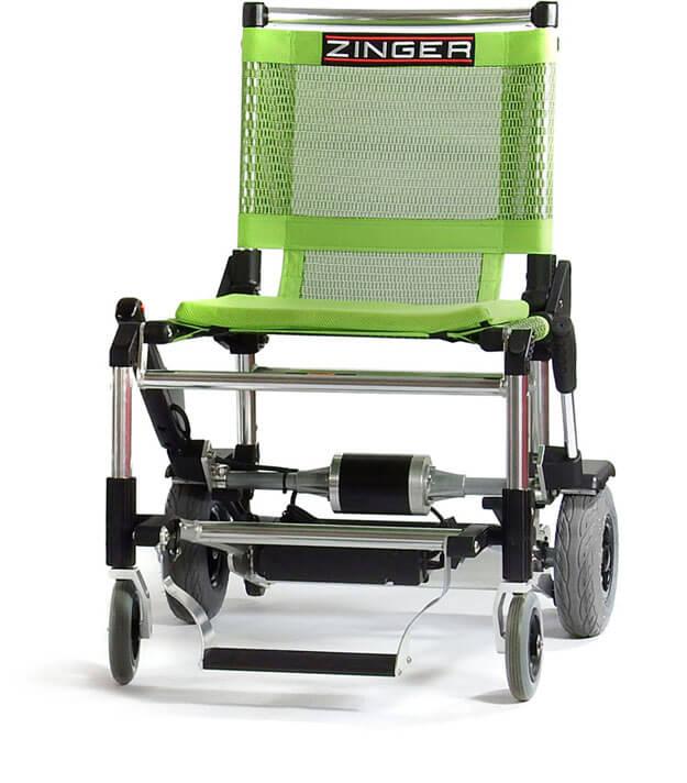 silla eléctrica Zinger verde