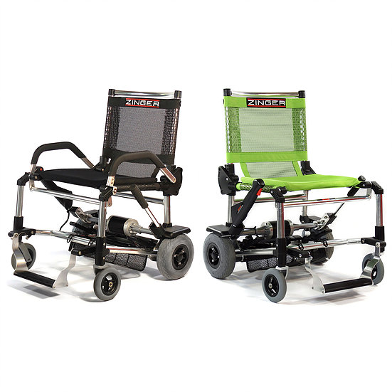 Las sillas electricas zinger son las más ligeras del mercado