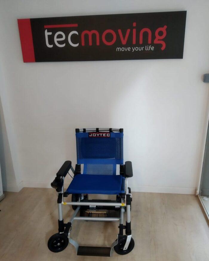 silla de ruedas eléctrica Joytec azul outlet