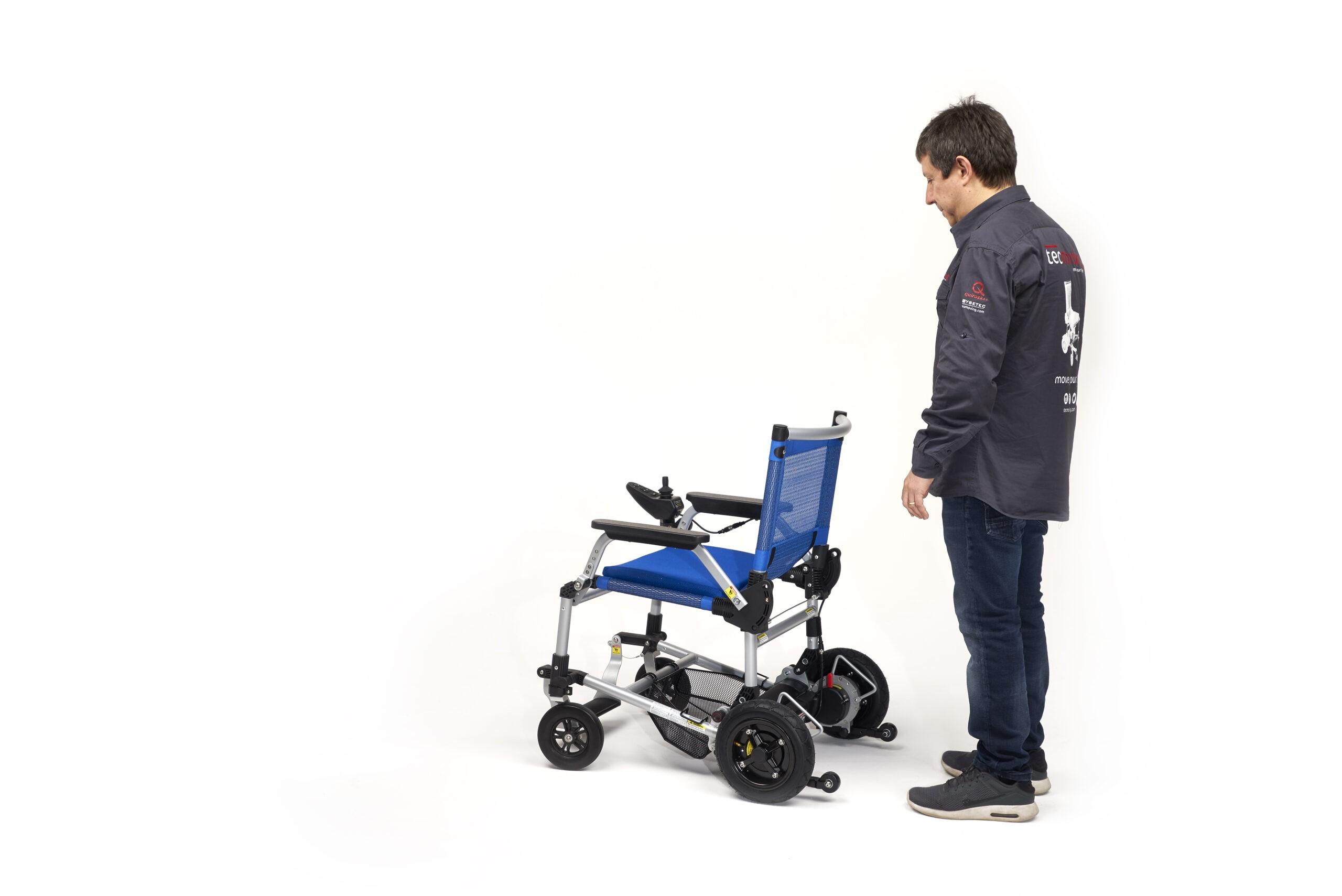 Joytec Pro, la silla eléctrica ligera y plegable