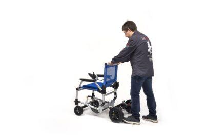 Silla de ruedas eléctrica más ligera joytec pro