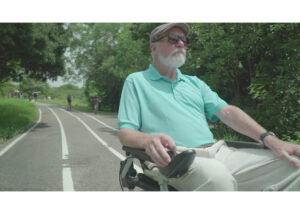 silla de ruedas eléctrica plegable Joytec