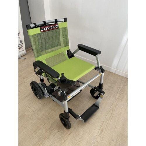 silla de ruedas eléctrica Joytec verde outlet