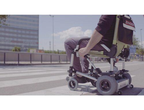 Zinger, la silla de ruedas eléctrica más ligera y plegable del mundo
