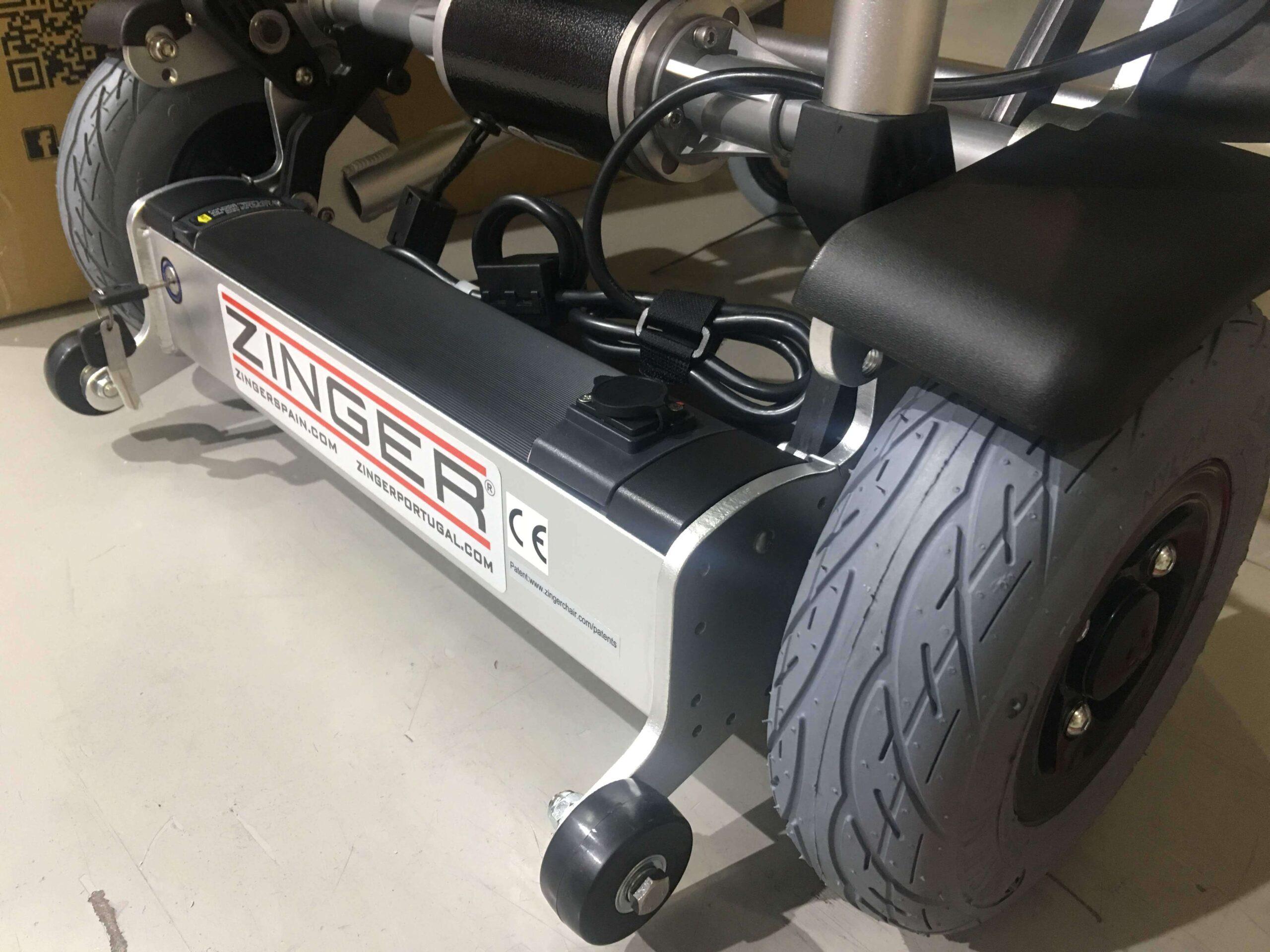 Neumáticos silla de ruedas electrica zinger classic negra segunda mano