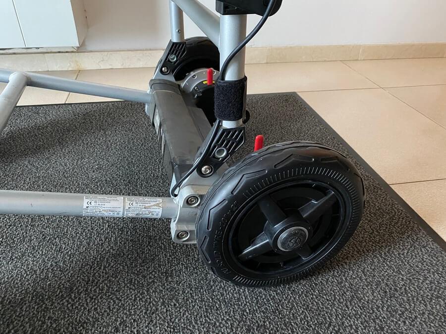 silla electrica joytec ruedas macizas lateral