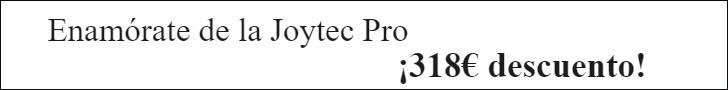 Oferta descuento 318€ en Joytec Pro